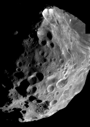 Cassini photo of the moon Phoebe